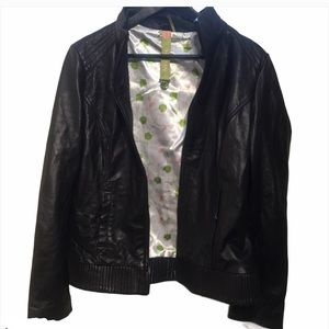 Soia and Kyo genuine leather jacket